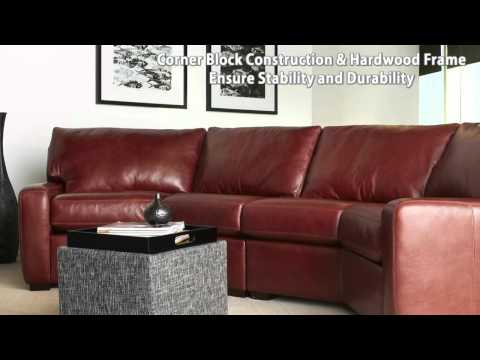 American Leather Carson Sofa - American Leather Anniversary Collection