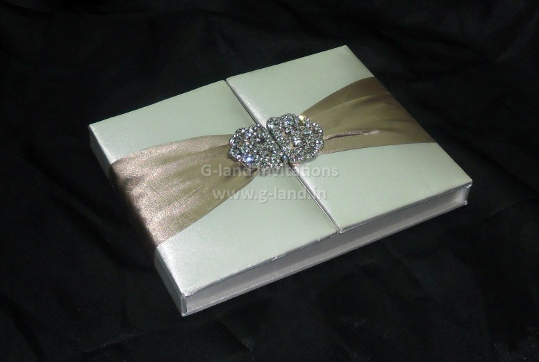 Luxury Silk Wedding Invitation Box Suppliers And Manufacturers At Alibaba