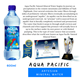 Aqua Pacific Mineral Water 600 ml x 24 Bottles (Case)