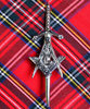 Masonic Design Kilt Pin Traditional Tartan Clan Kilt Accessory