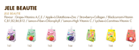 Jele Beautie Lychee Juice Mix L-carnitine And Vitamin C - Buy ...