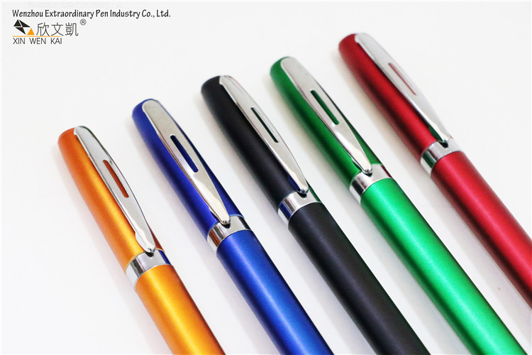 Plastic stylus touch screen ballpoint pen with custom logo printing