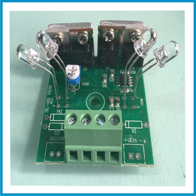 12V single axis Solar tracker sun tracker controller board