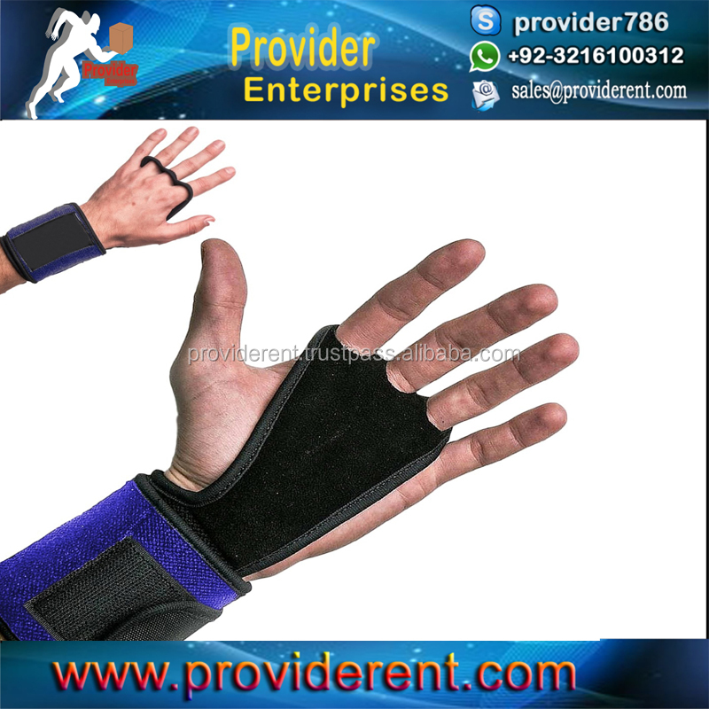 Fitness Silicone Grip Palm Protector Crossfit Weight Lifting Gloves Gym Cross Training Gloves With Wrist Support