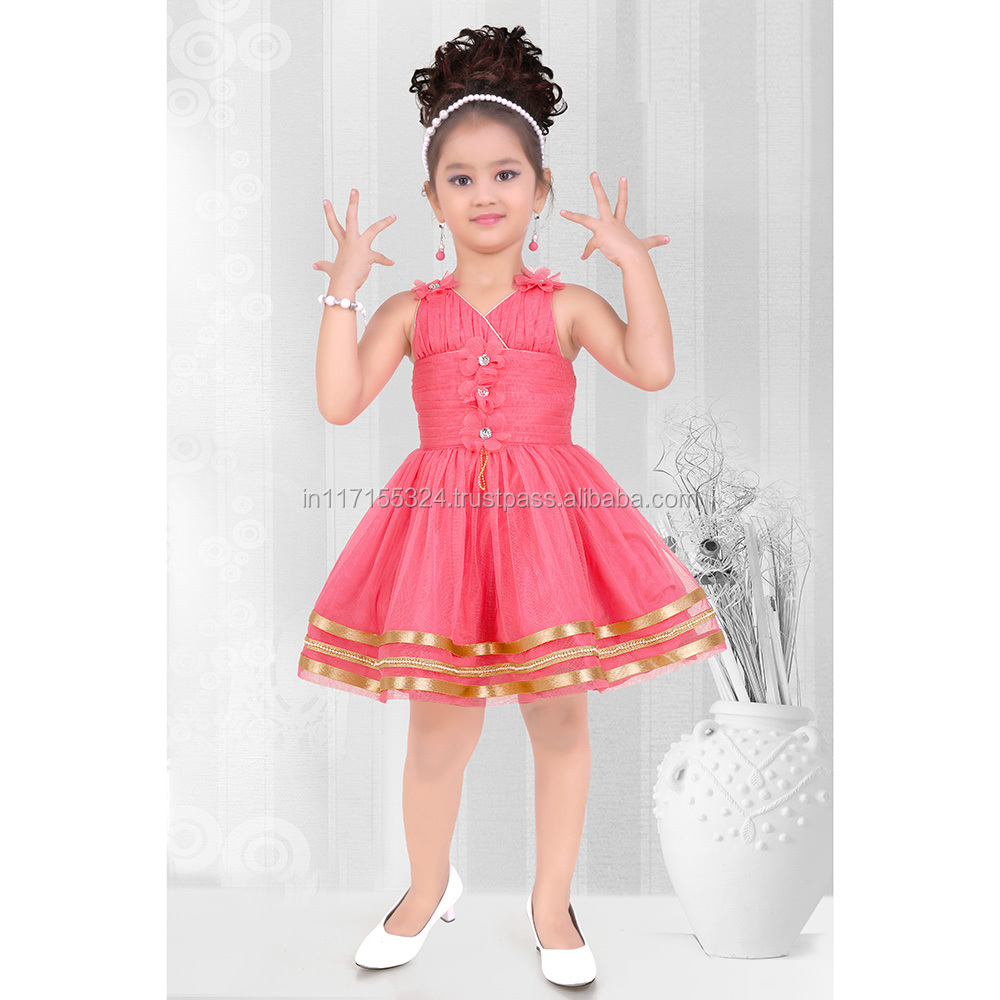 2015 New Baby Girls Frock-kid Wear Cheap Price Designer Frock-kids ...