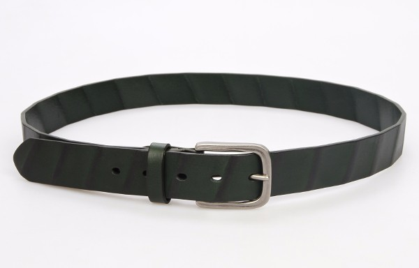 customized fashion genuine leather belts with belt buckle