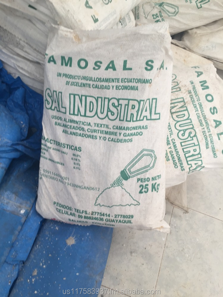Natural Pacific Coast Industrial Sea Salt Bulk Bags
