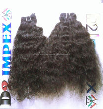 Natural brazilian brown kinky curly hair weaving