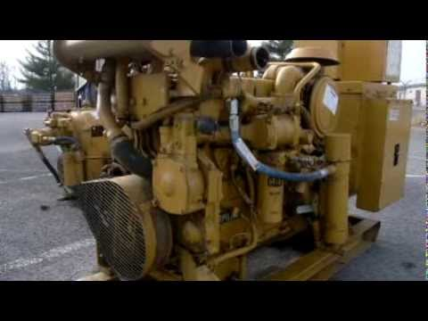 Caterpillar 3300 Diesel Engine with 1996 Caterpillar 3304 Generator on GovLiquidation.com