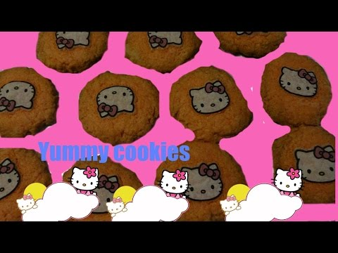 BAKING GOODIES HELLO KITTY COOKIE WITH EDIBLE HELLO KITTY IMAGES