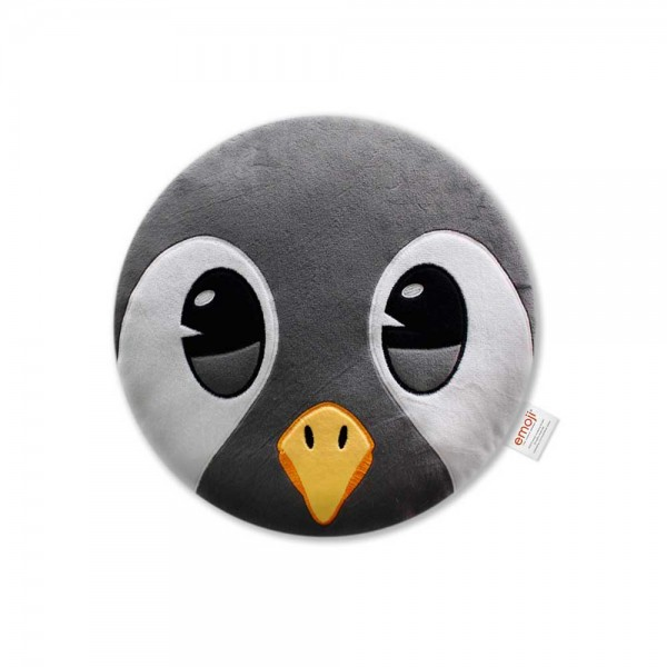 Official emoji plush penguin pillow with Trademark, devil emoji pillow