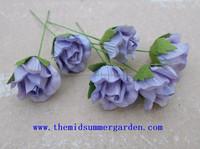 Handmade Paper Rose Bud Flower for Art, Craft, DIY, Hobby, Wedding and Home Decoration.