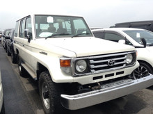 JAPANESE USED CARS FOR SALE DIESEL TOYOTA LAND CRUISER70 LX EXPORTED FROM JAPAN