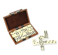 28 PC DOUBLE SIX DOMINO SET