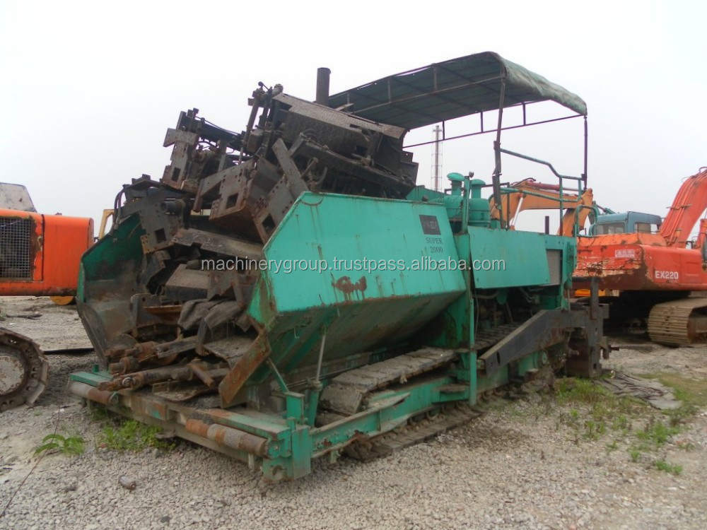 Used Vogele Paver Super 2000