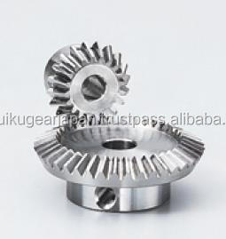 Bevel gear Module 0.8 Ratio 2 Carbon steel Made in Japan KG STOCK GEARS