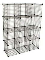 Metal Stackable Storage Cubes