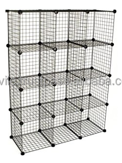 Perfect Metal Stackable Storage Cubes