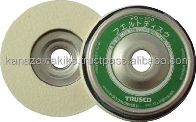 Trusco Felt Disk (for Wiping) Fd100
