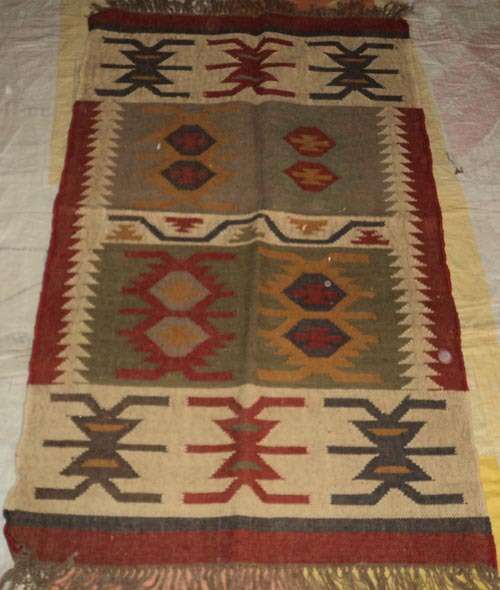 Indian Whole Por Top Quality Handloom Rug Eco Friendly Handmade Natural 100 Cotton Kilim