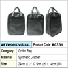 PU Leather Golfer bag