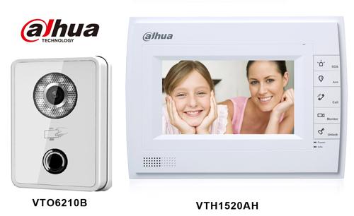 Dahua Vto6210b Amp Vth1520ah Kit Ip Video Door Phone Bell