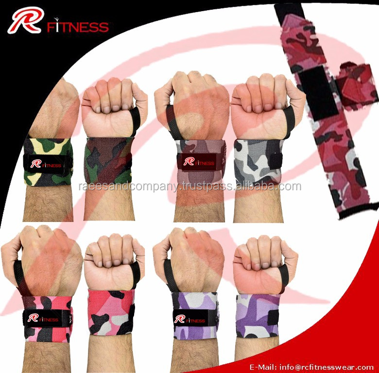 Double Super Heavy Wrist Wraps / More Stiffest Wrist Wraps BY RC FITNESS Wrist wraps