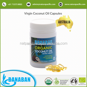 Wholesale Quality BANABAN Nature Virgin Coconut Oil Capsules from Australia