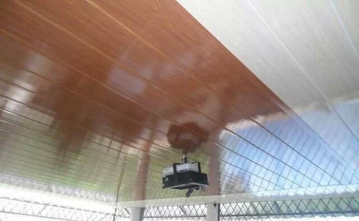 Tablillas,Cieloraso Algérie Faux Bois Mur Plafond Revêtement Pvc ...