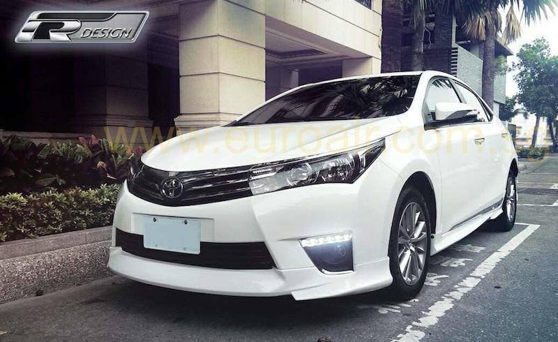 New Body Kit For 2014 Toyota Altis Corolla In Full Abs