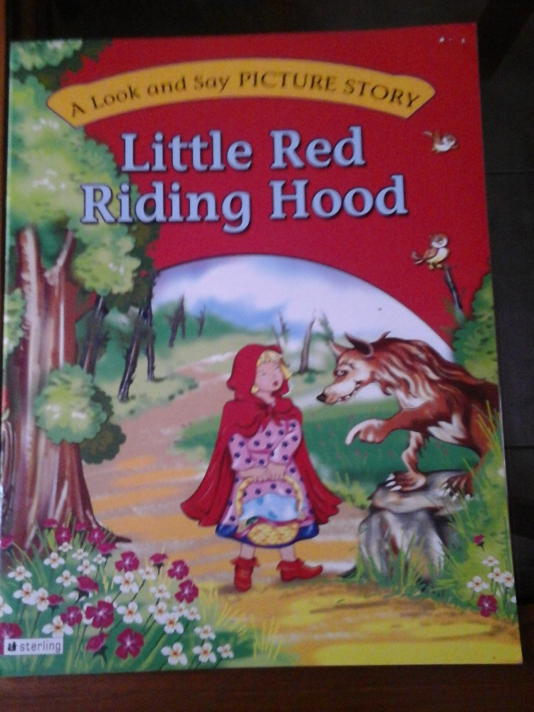 Little Red Riding Hood Story Book Buy Storybook Product On