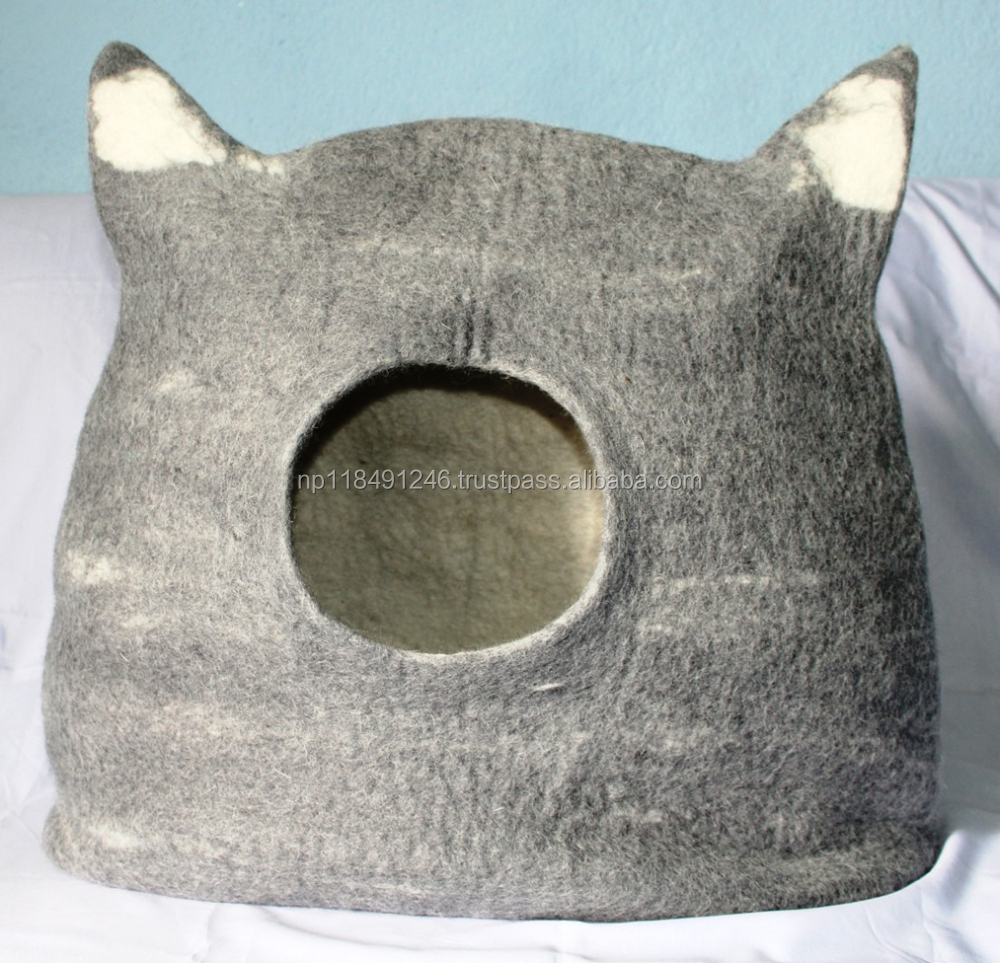 Felt cat bed /cat house / cat cave/ high quality
