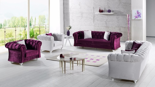 Chesterfield Sofa Set Product On