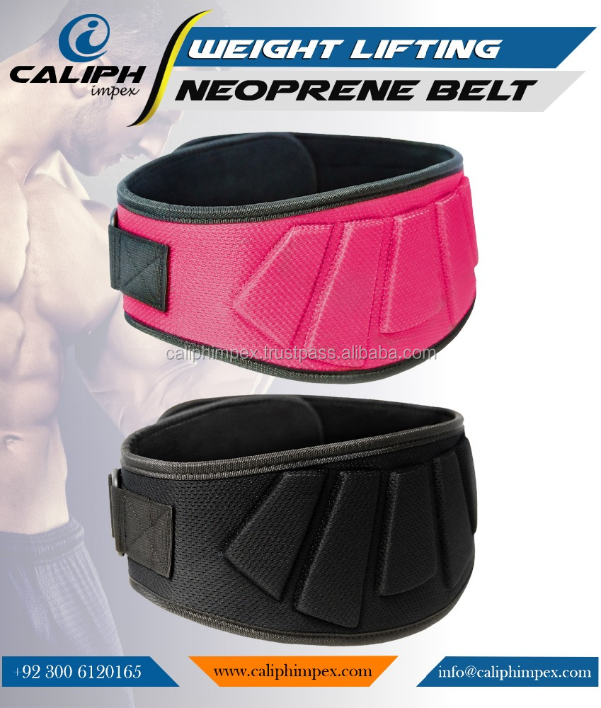 Neoprene Weightlifting Power Lifting Gym Training Fitness Belt