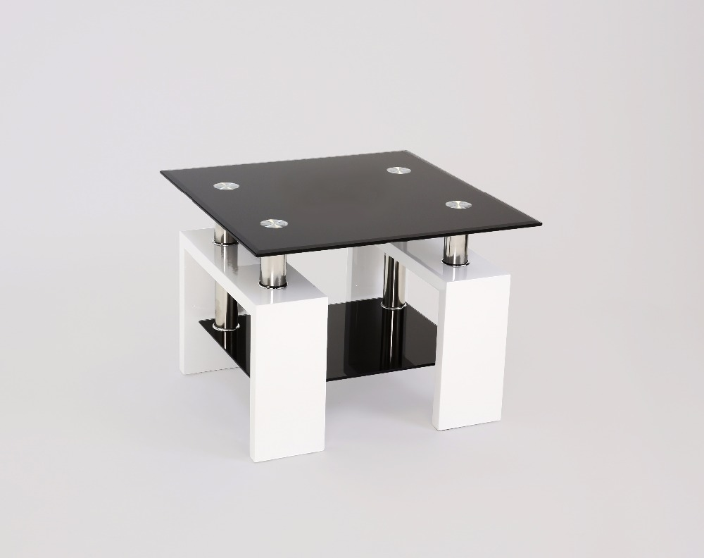 Metro White High Gloss Side Table Product On Alibaba