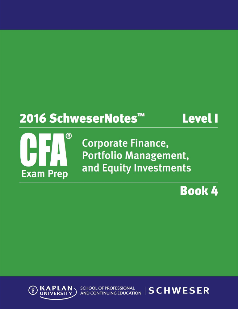 Cfa Level 2 Books Free Download 2016 24