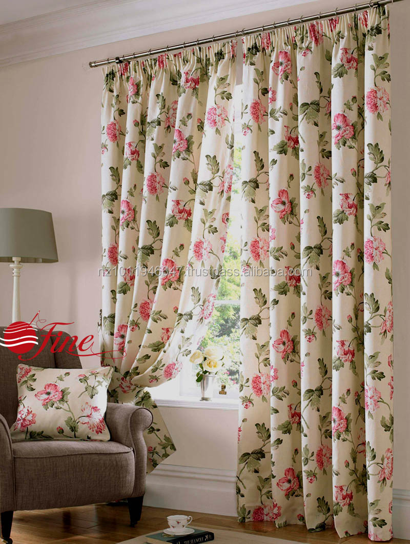 Top Quality Gorgeous Country Cottage Floral Curtains With