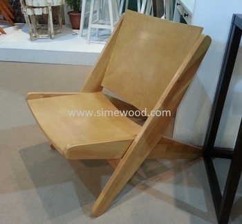 Folding Chair, Wooden Leisure Chair