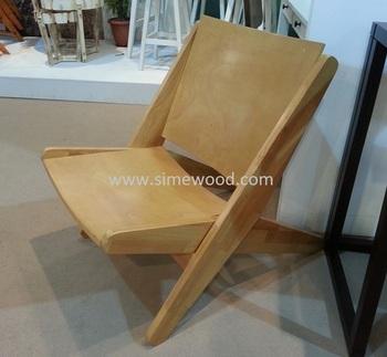 Folding Chair, Wooden Leisure Chair