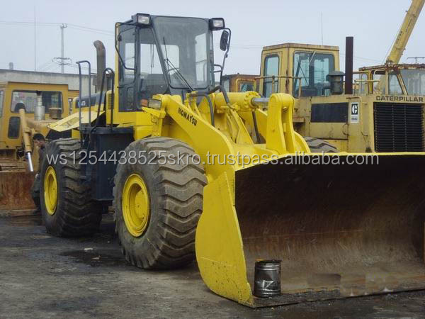 Cheap used Komatsu WA470 Wheel Loaders for sale/Hot sale in the South America