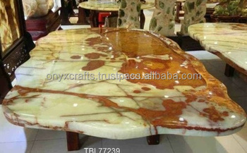 Mult Green Onyx Stone Table Top In Price
