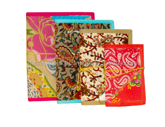 Tradisional buatan tangan kertas notebook saku mini notebook