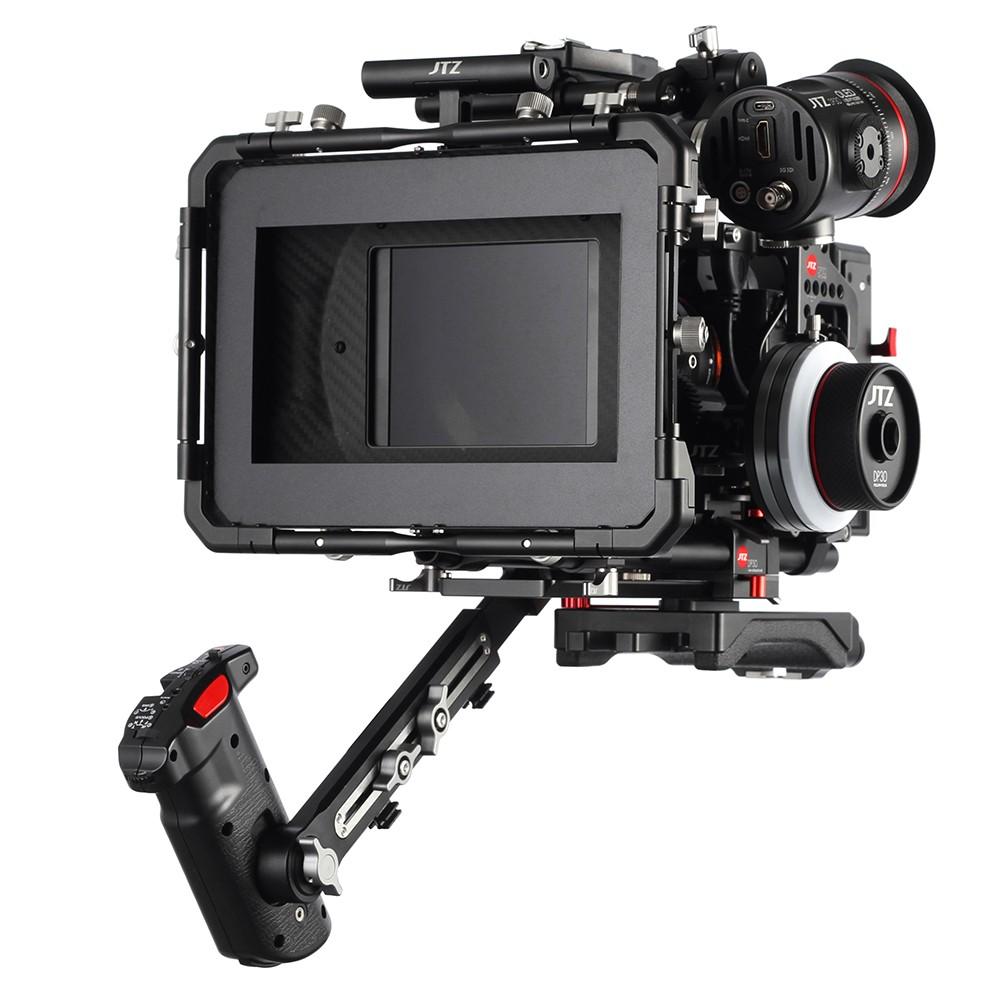 JTZ DP30 Camera Cage Base plate + Top Handle Rig For SONY A7S A7SII A7SM2 A7R A7RII A7M2 A7 II