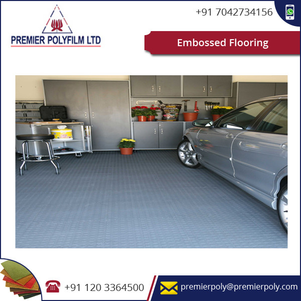 Hot Sale! Embossed Flooring Tiles Available for Bus and Train Flooring