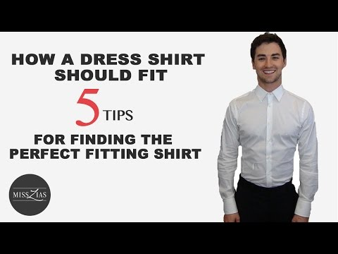 Men's Dress Shirt Fit Tips: 5 Steps for Finding the Perfect Dress Shirt