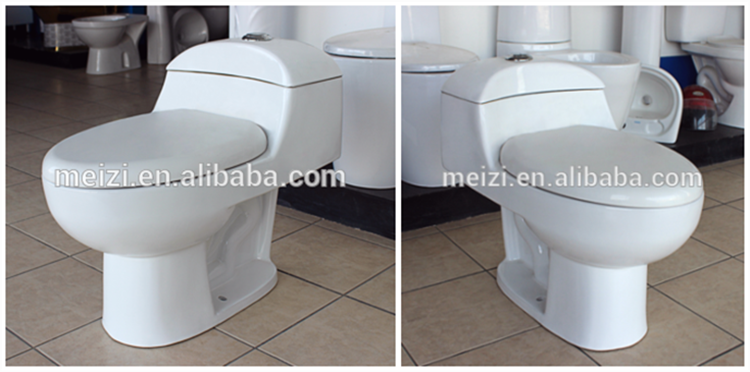 Sanitary ware manufacturers ceramic one piece red color toilet for sale