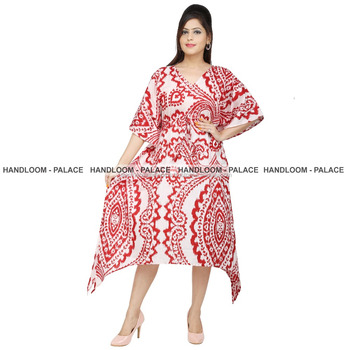 894f585b97 Indian Women's Casual Kaftan Cotton Plus Size Handmade Shirt Long Summer  Wear Maxi Dress kaftan Tunic