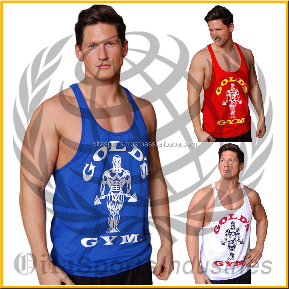 35903942eb376 No Pain No Gain Gym Bodybuilding Muscle Fitness Singlets Stringer Vests Tank  Tops