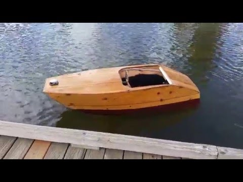 Get Quotations Plywood Boat Small Electric Inboard