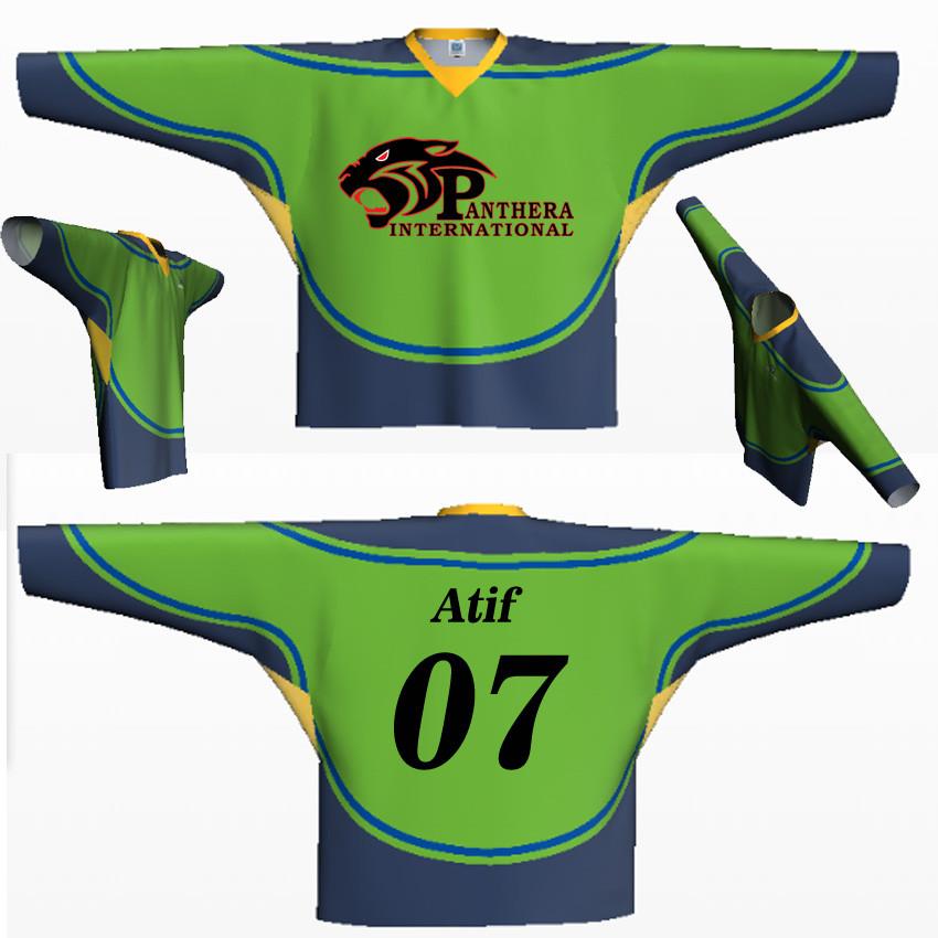 9134c98c3 Custom Made Hockey Jerseys And Uniforms Panthera International - Buy ...